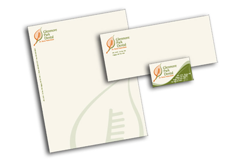 Glenmore Park Dental stationery