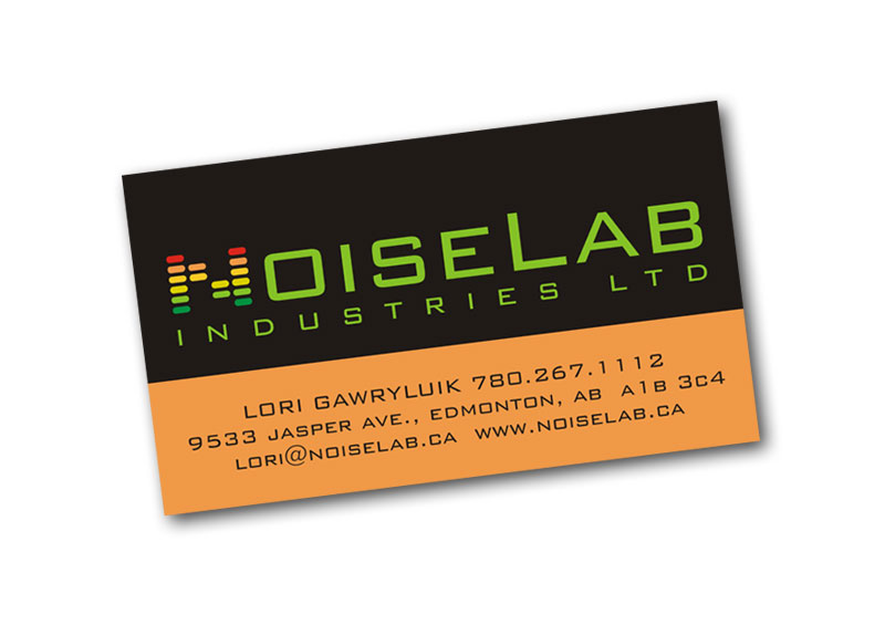 Noiselab business card